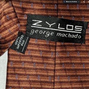 Zylos George Mechado 100% silk